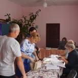 Андрей Мартынов отметил высокую явку в ряде поселений Скопинского района