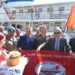 Саратовские сторонники партии «Единая Россия» встретились с делегацией ветеранов боевых действий Свердловской области