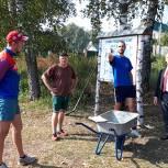 В Ряжске продолжается благоустройство «Территории здоровья»