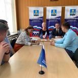 В Общественной приёмной местного отделения партии «Единая Россия» прошёл еженедельный приём граждан