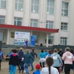 В Дюртюлях активист партпроекта «Защитник Отечества» провел массовую зарядку