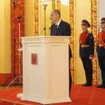 Паслер вступил в должность губернатора Оренбургской области