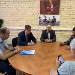 Люберецкие партийцы провели выездное совещание на предприятии «Энергоконтракт»