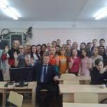 В Княжпогосте прошёл парламентский урок с депутатом Госсовета