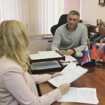 Исполнительный секретарь провел прием жителей в Ростокине