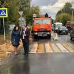 Дмитровские партийцы проверили ход ремонта дорог