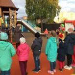 В Тобольске открыли четыре новых детских площадки
