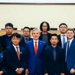 Андрей Артюхов встретился с молодыми предпринимателями из Китая