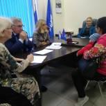 Всероссийский день приема родителей дошкольников прошел в Региональной общественной приемной