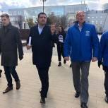 Люберецкие партийцы проверили ход реализации проекта «Городская среда»