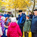 Лыткаринские единороссы открыли новый детский игровой комплекс