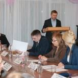Владимир Жук принял участие в заседании совета депутатов Дзержинского, на котором выбрали главу города