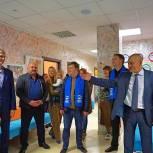 Новоивановские партийцы приняли участие в открытии филиала КСЦ в Заречье