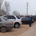 В Павловском Посаде партийцы помогли решить проблему парковки и утренней пробки