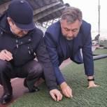 В Домодедове торжественно открыта многофункциональная спортивная площадка