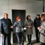 Наталья Кувшинова проконтролировала строительство ФАПа в Новомихайловке
