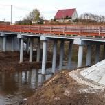 В Рязанском районе отремонтировали железобетонный мост