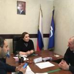 Депутат Народного Собрания РД Марина Котенко провела прием граждан