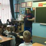 Михаил Диктованный провел «Урок доброты» в химкинской школе №20