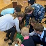 Партийцы напомнили энгельсским школьникам о важности раздельного сбора мусора