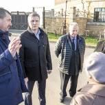 Одинцовские партийцы взяли на контроль обращения жителей деревень Сельская Новь и Ликино