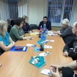 В Надыме руководитель региональной общественной приемной принял участие в Федеральной неделе приёма граждан