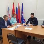 Владимир Жук обсудил с депутатами городского Совета в Дзержинском работу платформы «Избиратель-депутат»