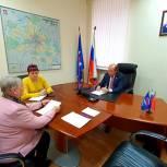 Владимир Кононов встретился с жителями в региональной общественной приемной Партии