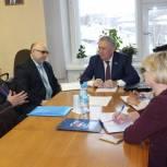 Иван Медведев посетил Сысольский район
