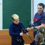 Михаил Диктованный провел «Урок доброты» в Одинцовской школе № 1