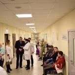Партийцы Балашихи ознакомились с работой отделение спортивной медицины, в рамках партпроекта «Здоровое будущее»