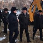 «Не допустить удорожания, снижения качества и очередного срыва сроков»: Романенко проверил объект партпроекта в Рубцовске