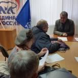 Депутат поможет членам СНТ установить высоковольтный счетчик для трех дачных кооперативов