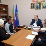 Вадим Супиков провел прием граждан по случаю 18-летия «Единой России»