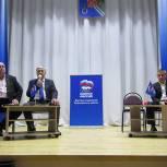 Михаил Кривцов рассказал о задачах местного отделения партии Рыбновского района