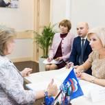 Баталина: Более 300 тыс. человек обратились в приемные «Единой России» с начала Недели приемов