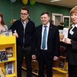В Сосногорске распахнула двери первая модельная библиотека для детей и молодежи