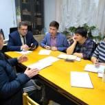Алексей Баранов провел прием граждан в Чухломском районе