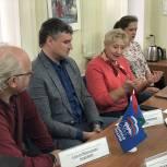В местном отделении «Единой России» в Черноголовке состоялся первый «Партийный час»
