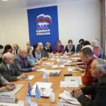 Единороссы Тобольска провели круглый стол на тему господдержки пенсионеров