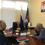 Депутат Народного Собрания РД Гамид Аскерханов провел прием граждан