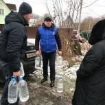 Партийцы Чехова помогли жителям Крюкова деревни с питьевой водой