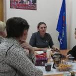 Первомайский район: Елена Мещерякова провела «Круглый стол»
