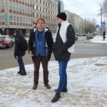 Единороссы вышли на очередной рейд по контролю за качеством работы «Дорожного хозяйства» Сыктывкара