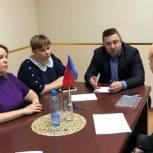 Партийцы Долгопрудного провели выездной прием граждан