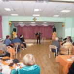 Партийцы Раменок встретились с «детьми войны»
