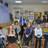 Серпуховские сторонники партии «Единая Россия» разделили премию добрых дел с семейным клубом «ПОДАрок»