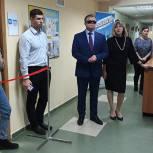 Владимир Вшивцев принял участие в открытии Медиацентра в Рузе
