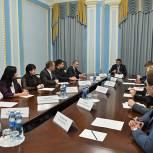 Губернатор Рязанской области провел встречу с участниками форума «Национальные проекты глазами молодежи»