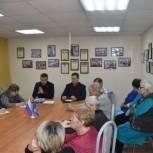 Воркутинские активисты партпроекта «Здоровое будущее» рассказали ветеранам о профилактике инсульта